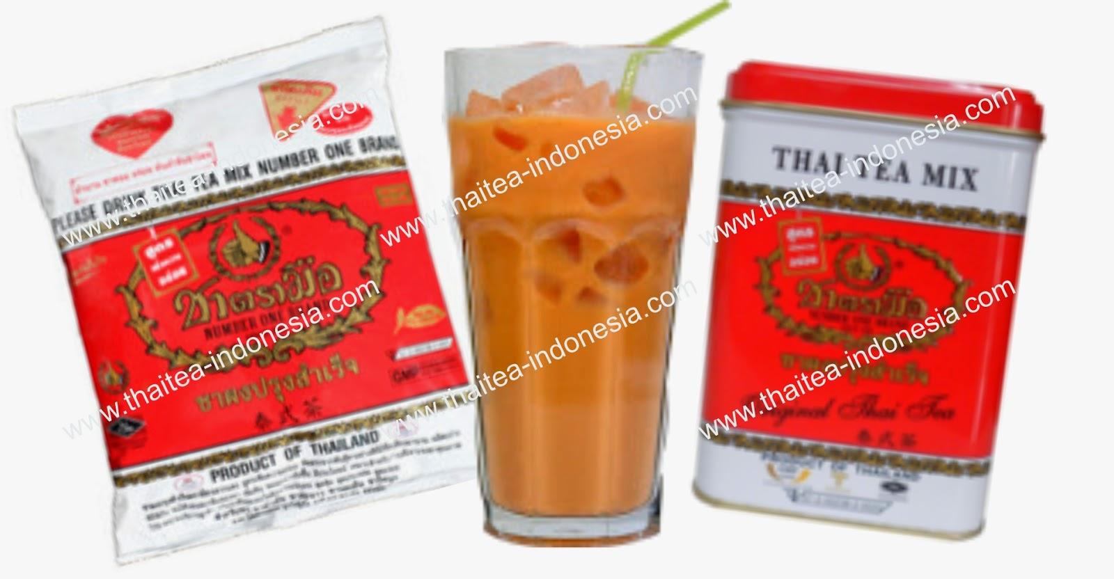 Supplier Drink Thai Tea Mix Di Indonesia