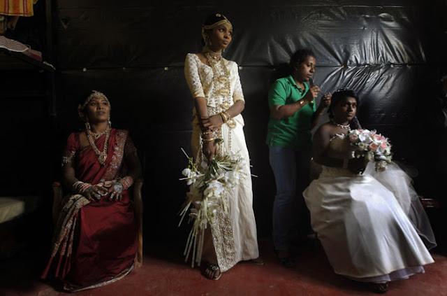 فسنان الزفاف في سري لانكا