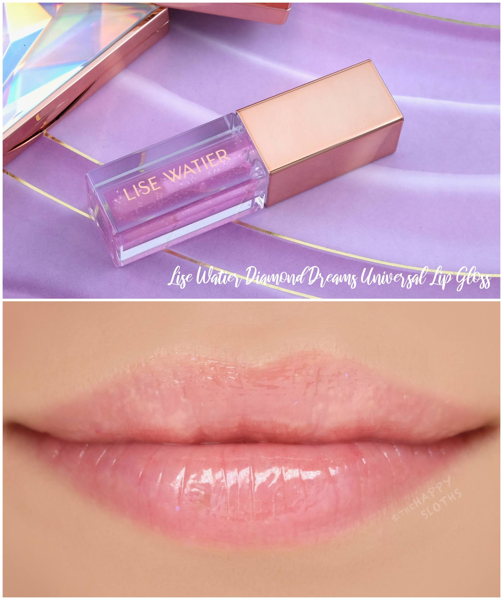 Lise Watier | Holiday 2020 Universal Lip Gloss: Review and Swatches