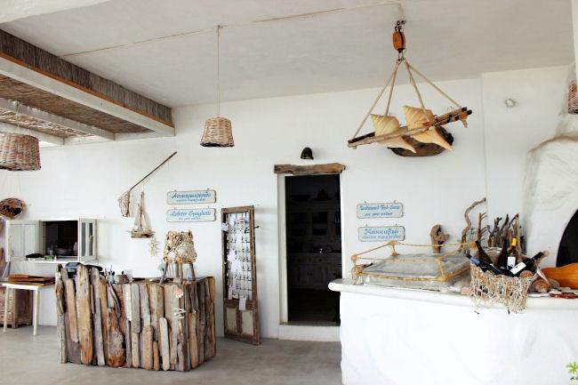 Koumbara seafood restaurant,Ios island