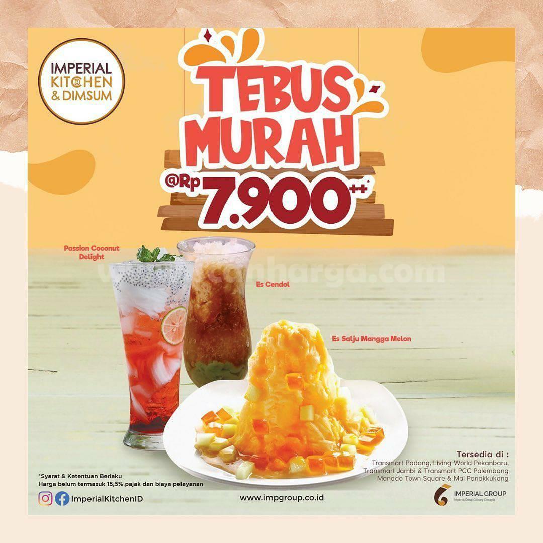 Imperial Kitchen & Dimsum Promo Tebus Murah Rp 7.900 untuk Menu Dessert