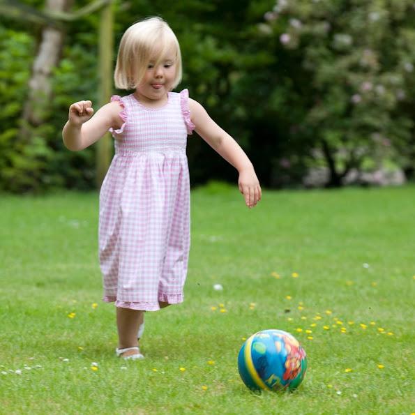 Dutch Princess Ariane celebrates her 9th birthday. Princess Ariane was born in the Bronovo Hospital in The Hague