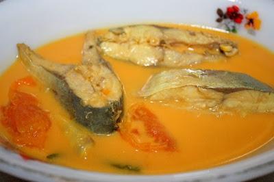 Resepi Gulai Kuning Ikan Tenggiri