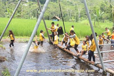 Paket Outbound Anak TK, PAUD, SD, SMP di Jogja