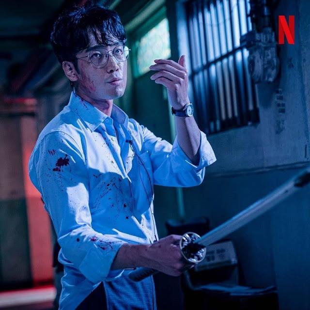 Kim Nam-Hee sebagai Jung Jae Heon : Karakter Drama Korea Sweet Home