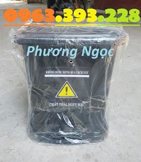 Thùng đựng rác thải y tế đạp chân 25 Lít, thùng rác y tế đạp chân TR%25C4%2590C25L4