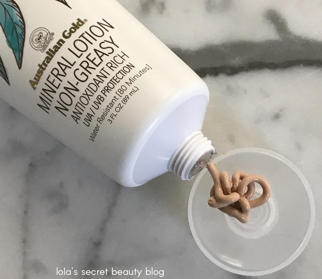 Lola S Secret Beauty Blog Australian Gold Botanical Sunscreen Tinted Face Spf 50
