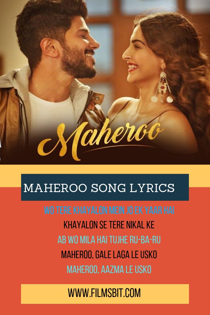 Maheroo Lyrics, Yasser Desai