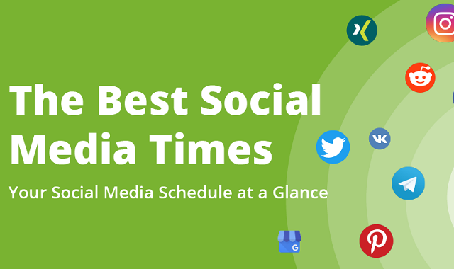 What is the best time to put up your social media post?