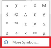cara membuat simbol matematika di word, excel, powerpoint