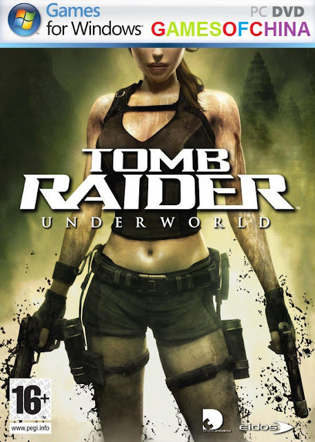 TOMB RAIDER UNDERWORLD Cover Photo