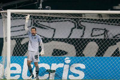 Diego Cavalieri mostra gratidão ao Botafogo