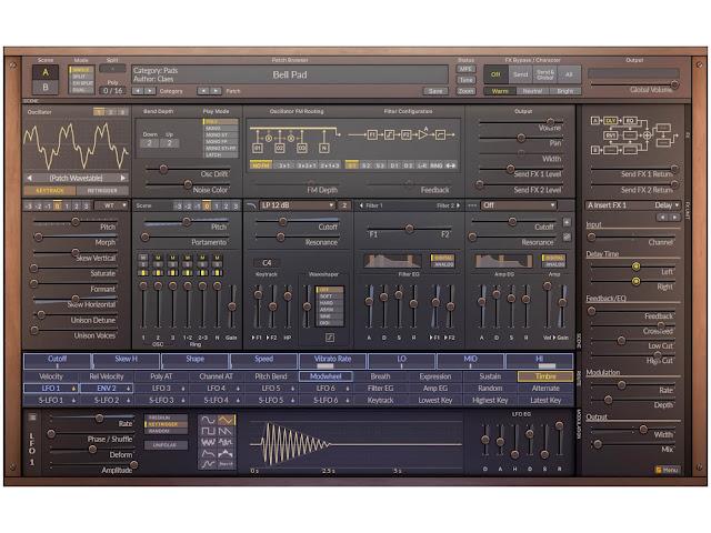SURGE Synthesizer 1.8.0 x64 x86 VST AU WiN MAC LiNUX [FREE]