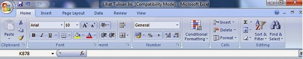 Compatibility Mode Office 97-2003 dan 2007