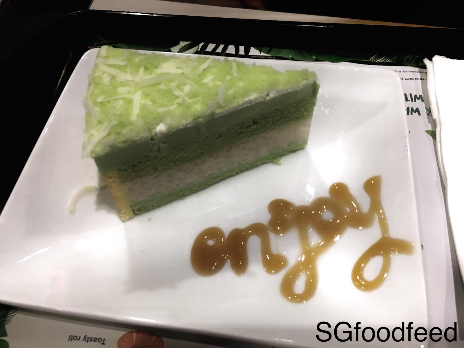 Kueh Salat Cake Mcdonald