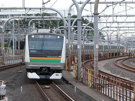 上野東京ライン 上野経由 東京行き2 E233系3000番台(2016.11品川駅工事に伴う運行)