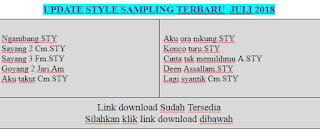 Style Sampling Yamaha Update Terbaru Lengkap Dengan Expansinya