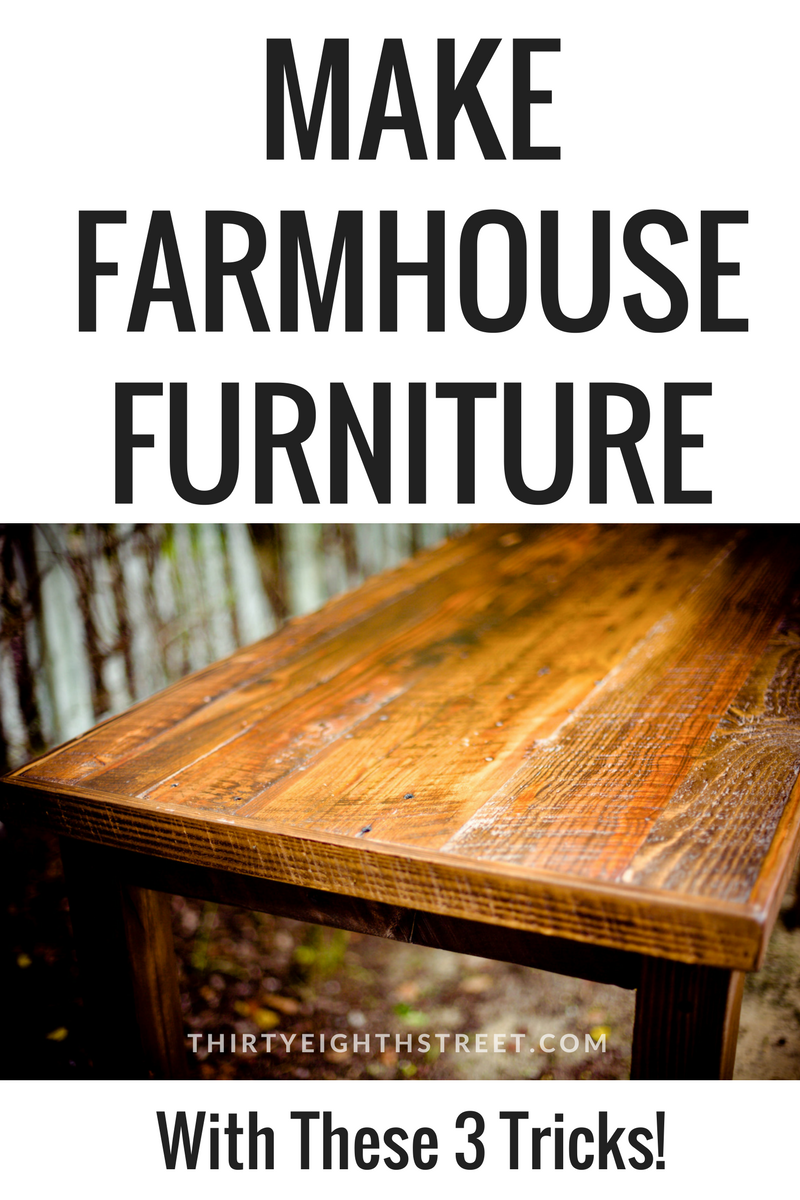 Pin This For Later Rustic Furniture Farmhouse Reclaimed Diy How To Make
