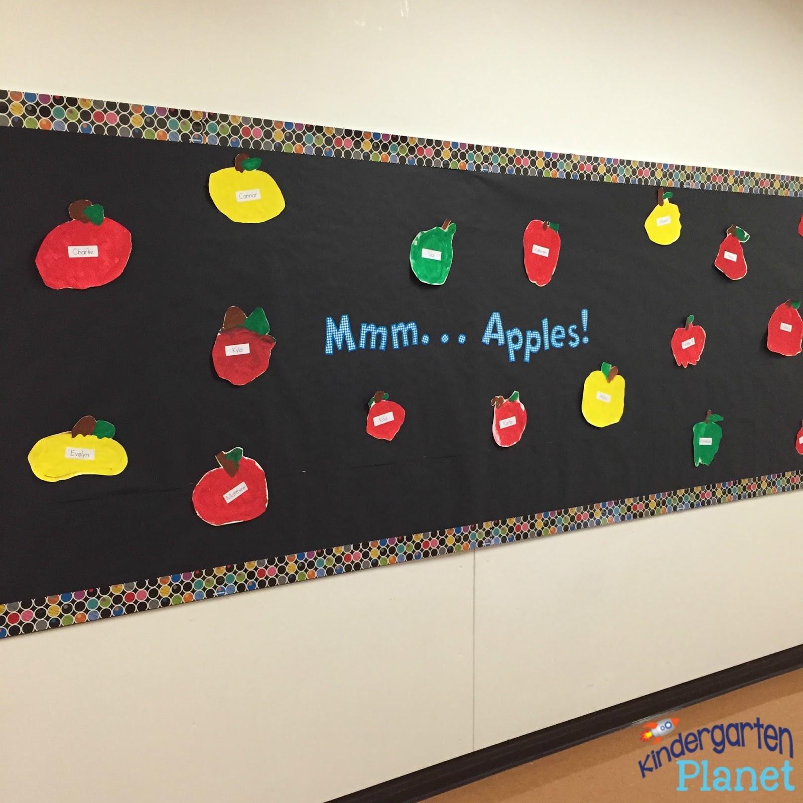 Apple Cores Are A Myth: Kindergarten Planet: Back To School In Kindergarten