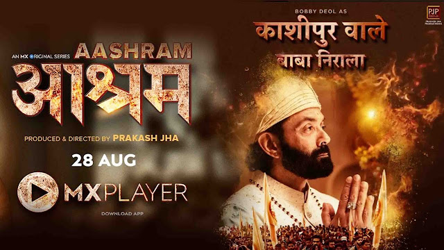 How to Watch Aashram Web Series For Free on Mx Player