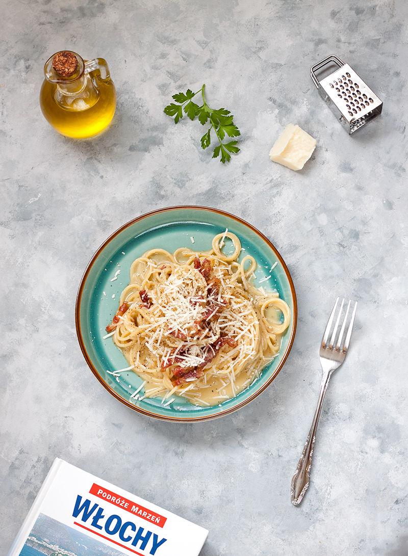 Spaghetti Carbonara jak zrobic