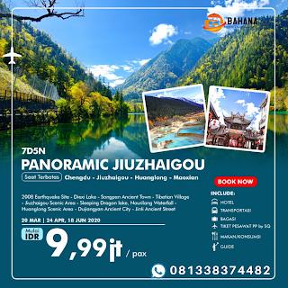 PAKET TOUR 7D5N PANORAMIC JIUZHAIGOU 2020