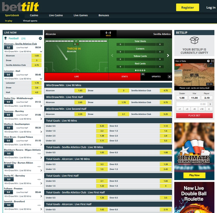 Bettilt Live Betting Offers