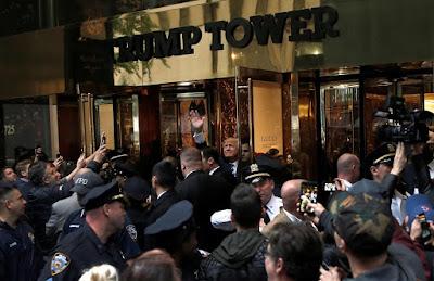 Donald Trump, amerikai elnökválasztás, Fehér Ház, Trump Tower, New York, Washington, Trump-toronyház