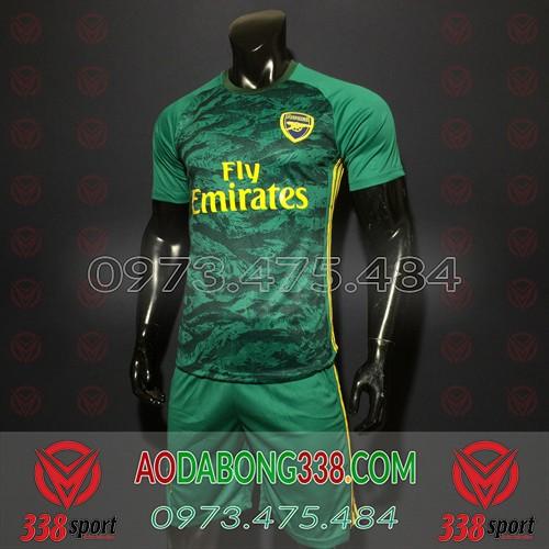 Áo Arsenal Xanh 2020 Training 14