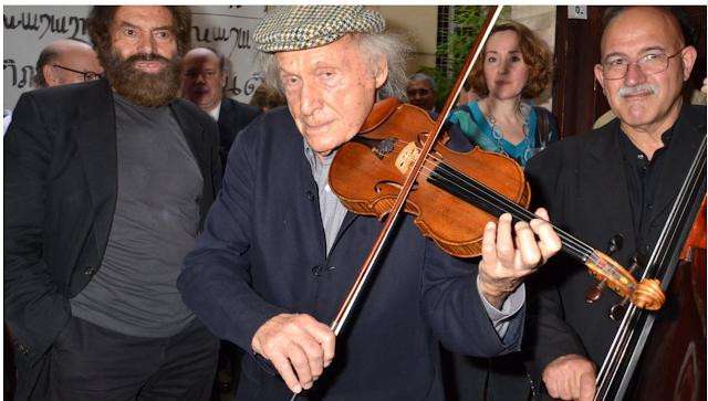 Ivry Gitlis, The Celebrated Israeli violinist dies in Paris aged 98.