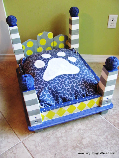 custom dog bed cushion