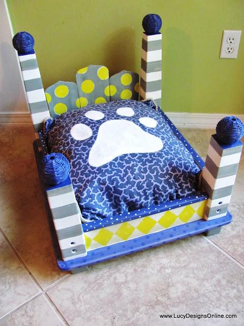 custom dog bed cushion