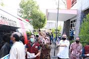 Swab Massal Tahap II Di Makassar 121 Orang Positif Covid - 19