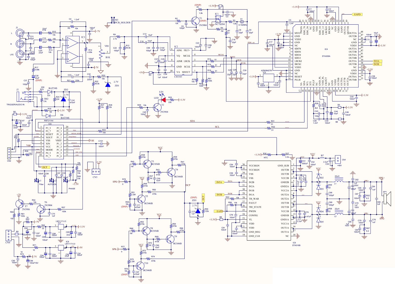 9 pin wiring diagram