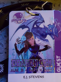 E.J. Stevens at Dragon Con 2017 Atlanta