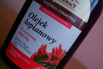 Green Pharmacy olejek łopianowy z czerwoną papryką