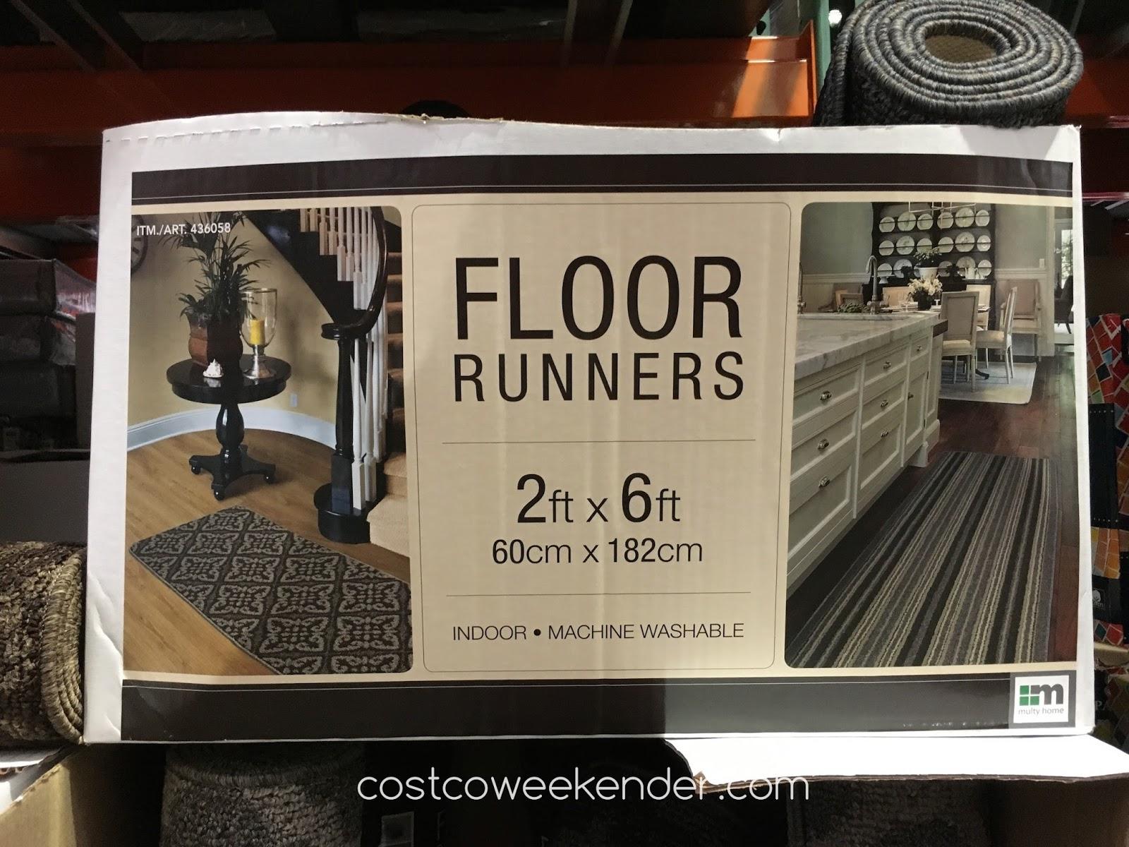 Multy Home Floor Runners Costco Weekender