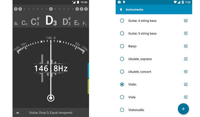 Tuner gString Free Aplikasi Stem Gitar Gratis