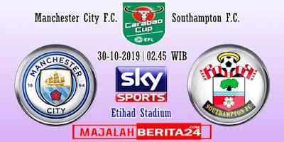 Prediksi Manchester City vs Southampton — 30 Oktober 2019