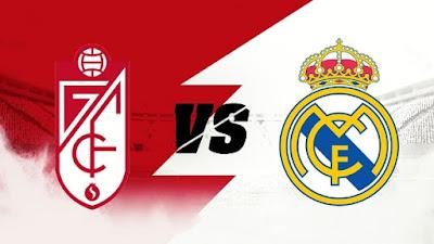 مشاهدة مباراة ريال مدريد ضد غرناطة 13-05-2021 بث مباشر في الدوري الاسباني