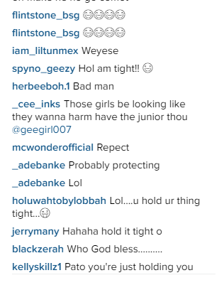 c Patoranking shares photo on Instagram, See fans reaction