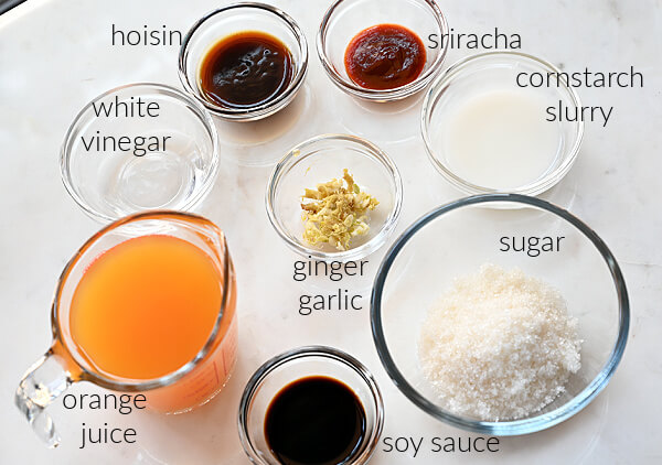 how to make orange sauce for orange cauliflower