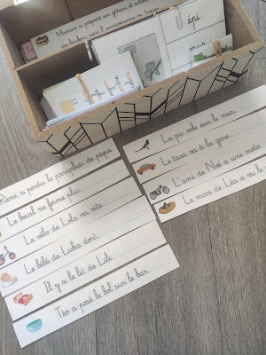 mon cahier de lecture montessori larousse série rose lecture maternelle école à la maison