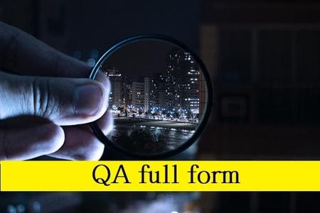 qa full form in hindi