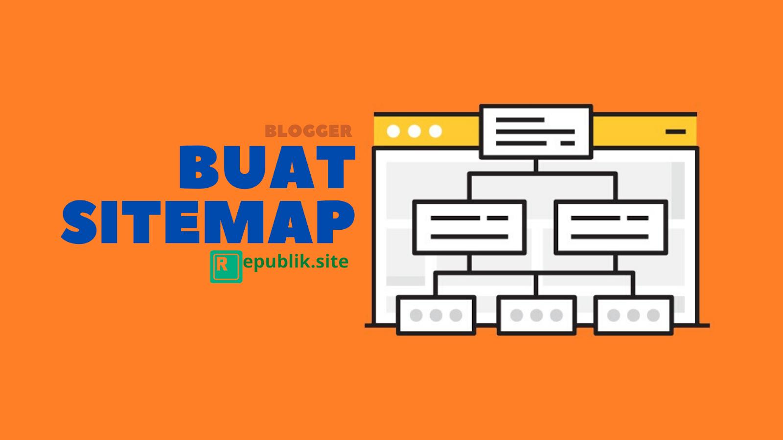 cara buat atau daftar sitemap peta