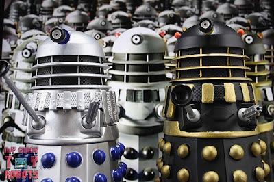 Custom Curse of Fatal Death Silver Dalek 23