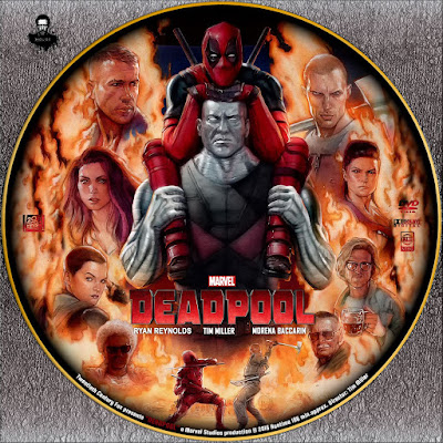 Label DVD Deadpool