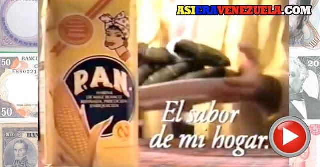 Los comerciales de la Harina Pan del pasado