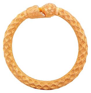 Senco Gold 22k Yellow Gold Bangle.