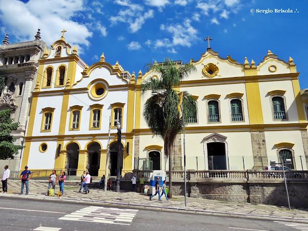 Fachada do Convento e Santuário São Francisco - Largo São Francisco - São Paulo